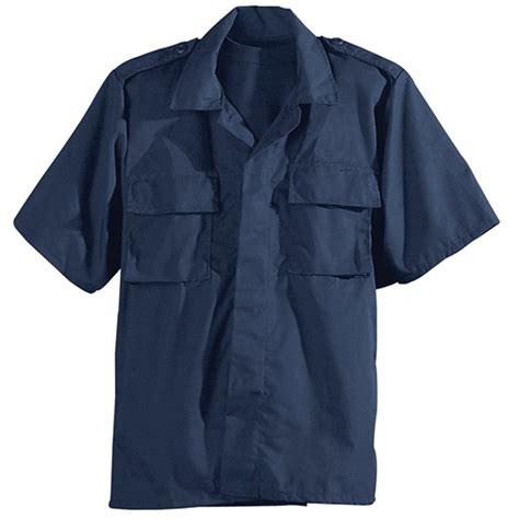 Blouse Bda galls sleeve poly cotton ripstop bdu shirt