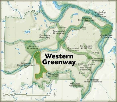 section 8 st louis county public gets first look at planned greenway in west st