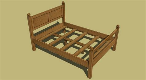 queen bed plans woodworking plans queen size platform bed woodproject