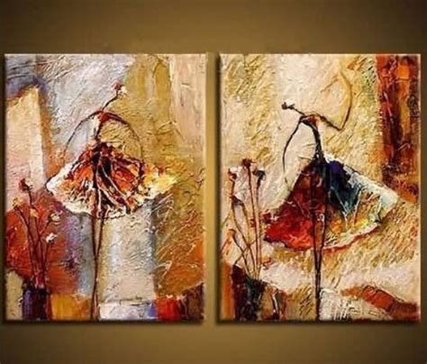 home artwork decor wieco art ballet dancers 2 piece modern decorative artwork