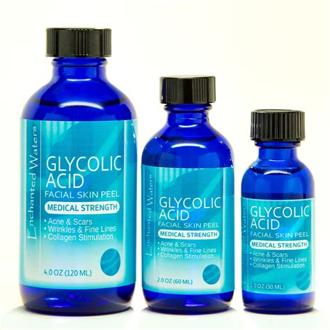 Glycolic Acid Peel At Home by Glycolic Acid Chemical Peel Kit Grade 100