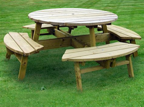 Large Picnic Table by Large Picnic Table Garden Furniture Land