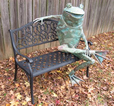 frog on bench frog on bench 28 images gardens vintage and frogs on