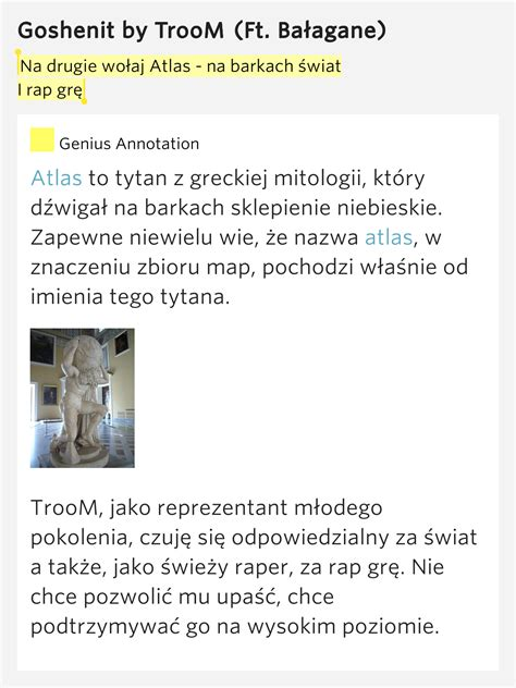 atlas lyrics na drugie wo蛯aj atlas na barkach 蝗wiat i rap gr苹