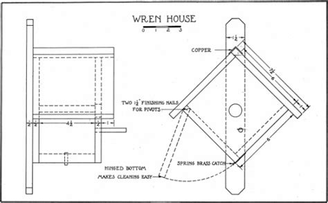Wren Houses Plans Pdf Diy Wren Bird House Plans Woodworking Woodproject