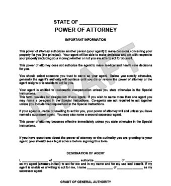 create a free durable power of attorney legaltemplates
