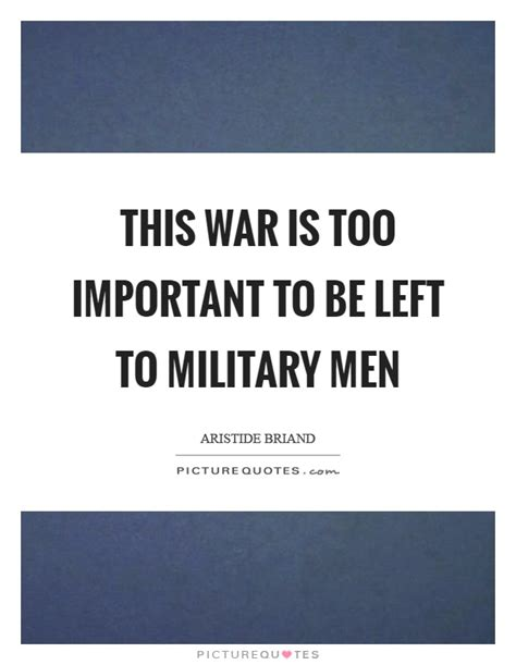 design is too important to be left to designers this war is too important to be left to military men