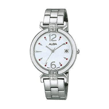 Jam Tangan Wanita Alba Atan77x1 Silver Original Murah harga jam tangan alba indonesia jualan jam tangan wanita