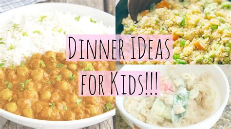 easy healthy dinner ideas for kids youtube