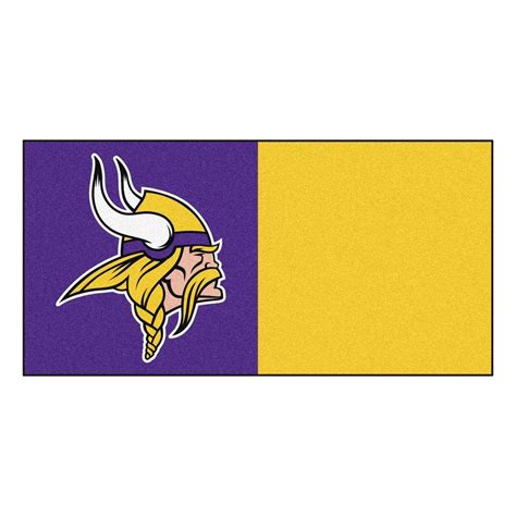 Home Decor Indianapolis by Fanmats Nfl Minnesota Vikings Purple And Gold Nylon 18