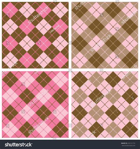 plaid pattern en espanol set seamless plaidargyle patterns dashed lines stock