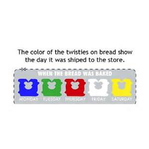 tie color meaning meaning of twist ties on bread trusper