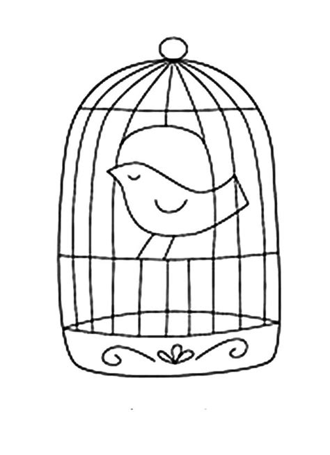 how to cage a how to draw bird cage coloring pages best place to color