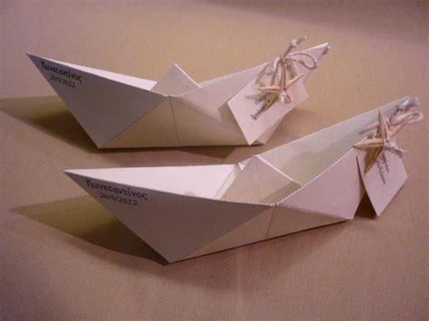 origami boat invitation 25 unieke idee 235 n over papieren boten op pinterest boot