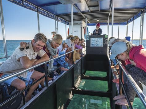 glass bottom boat coral bay coral coaster 5 day from perth to exmouth one way