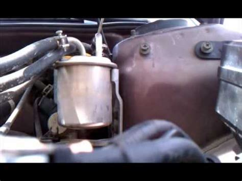 diy: 2nd gen subaru legacy fuel filter replacement youtube