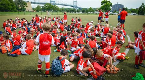 arsenal youth fc summer soccer camp arsenal fc goalnation