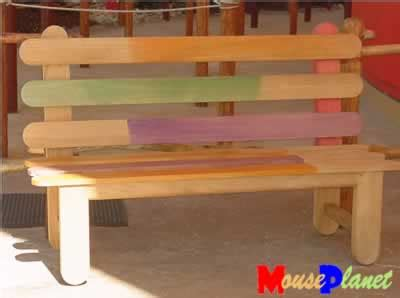 popsicle stick bench popsicle stick park bench diorama bits and pieces
