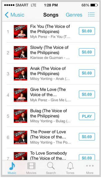 download fix you by myk perez mp3 top four artists of the voice ph dominate itunes chart