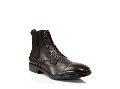 Varvatos Usa Bleecker Laceless Chelsea Boots In