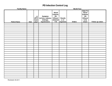 controlled log template best photos of key sign out log key log sheet