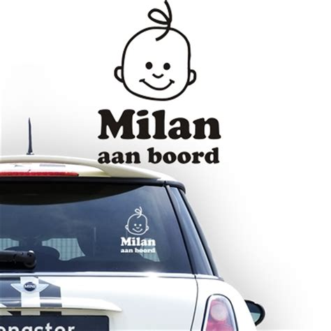 Baby On Board 20 personalized on board stickers personalized baby on