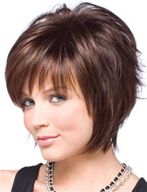 best short hairstyles for round faces 2015 google search 25 super chic hairstyles for fine straight hair short