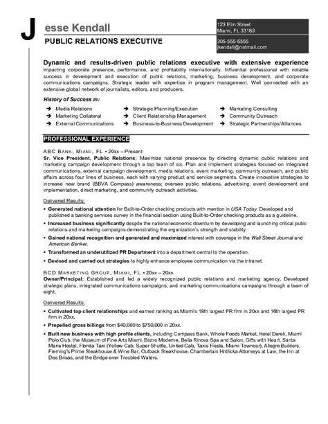 Relations Executive Sle Resume by Page 12 Best Exle Resumes 2017 Uxhandy