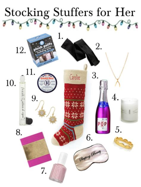 stocking stuffers for her gift guide stocking stuffers for her the work edit by