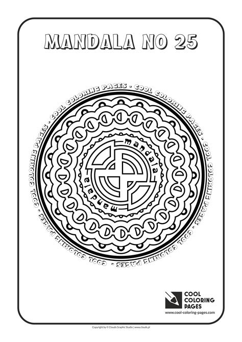 Cool Mandalas Coloring Pages