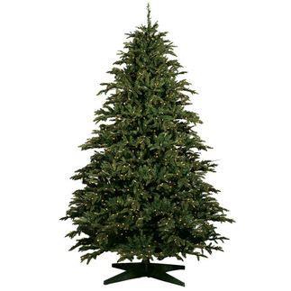Tree 10ft - 10 ft x 69 in alaskan deluxe fir pre lit
