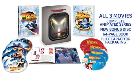 back to the future trilogy 30th anniversary flux capacitor edition back to the future 30th anniversary trilogy teaser collider