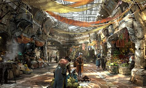 disney world reveals new name artwork models for disney imagineers and lucasfilm reveal new wars land