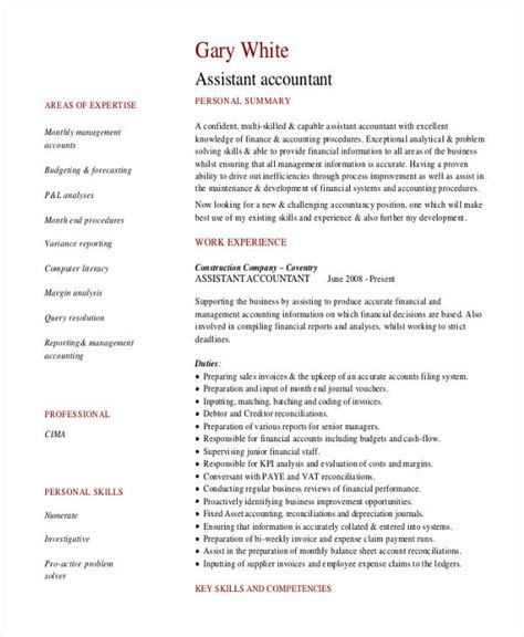 Financial Aid Assistant Sle Resume by Financial Controller Resume Template Premium Resume Administrative Assistant Sle Resume