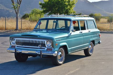 kaiser jeep wagoneer cherry fsj wagoneer for sale