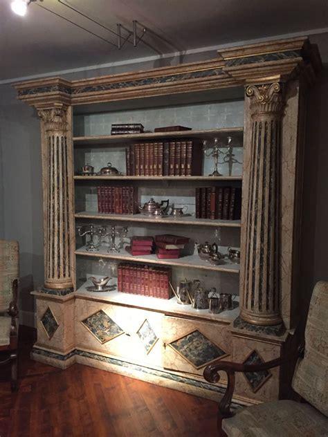 librerie laccate librerie in coppia laccate 250x57x250h antiquariato su