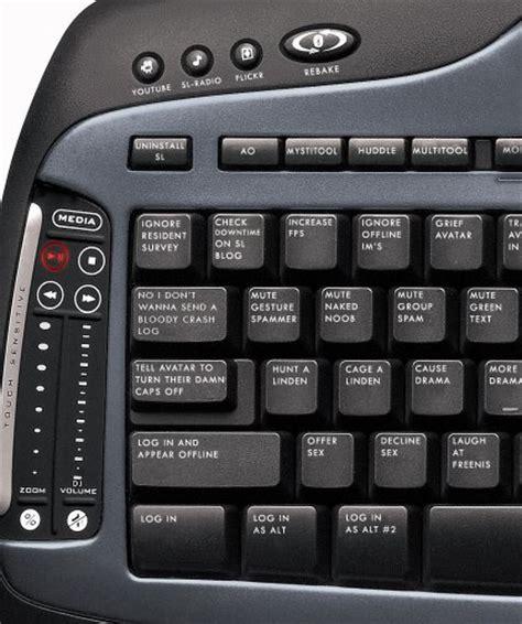 Keyboard Second handy keyboard shortcuts to make sl navigation a zoha islands second real