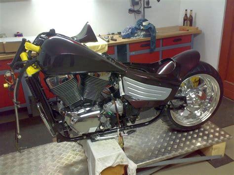 Motorrad Suzuki 1500 Vl by Umbautagebuch Suzuki Vl 1500 Intruder W B Custombikes