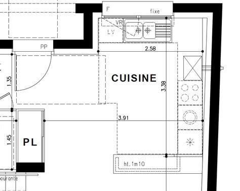plan cuisine 10m2 plan amenagement cuisine 10m2 photos de conception de