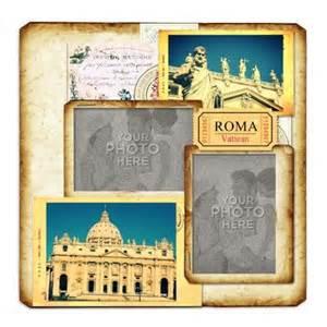Scrapbook Romântico Tutorial | digital scrapbooking kits roma template 2 aniaw