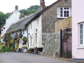 Cottages Branscombe by Cottages Branscombe C Maigheach Gheal Geograph