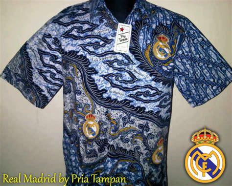 Edisi Terbatas Kemeja Chelsea Blue Kemeja Pria Club Bola 100 gambar gambar baju batik bola real madrid dengan