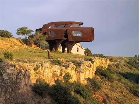 the steel house the steel house ransom canyon tx usa strange weird wonderful and cool buildings