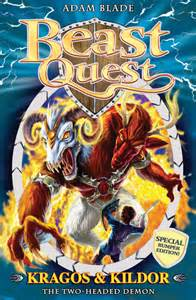 Beast quest special 4 kragos and kildor one beast two heads with death