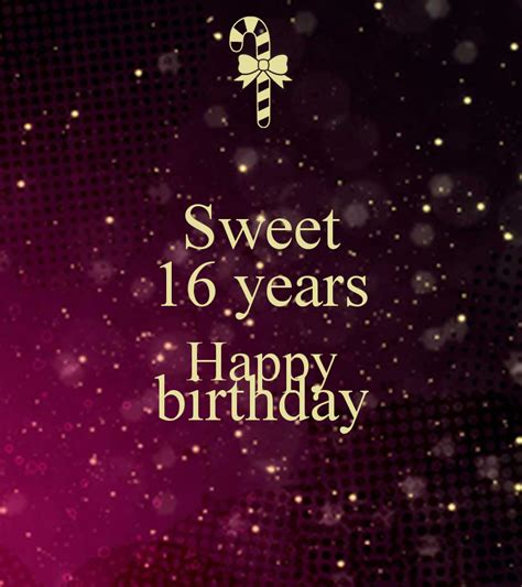 Sweet 16 Birthday Quotes For Sweet 16 Birthday Sayings Quotes Quotesgram