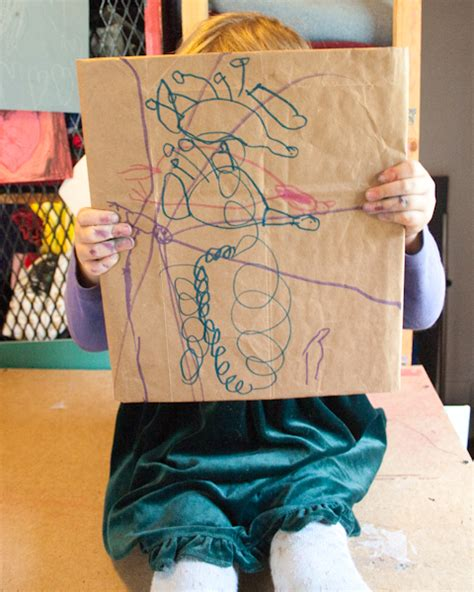 How Do You Make A Paper Bag Book Cover - 26 brown paper bag crafts crafting a green world