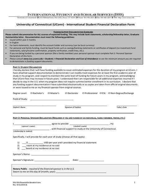 Student Finance Declaration Letter Forms For Student 37 Free Templates In Pdf Word Excel
