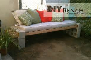 Cheap Exercise Bench Concrete Block Outdoor Bench Decor Hacks