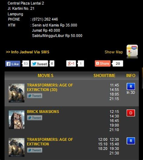 jadwal film bioskop hari ini di palembang indah mall cara mengetahui jadwal film bioskop 21 secara online