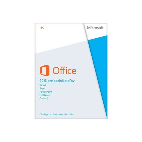Software Microsoft Office Home And Business Software Microsoft Office 2013 Home And Business 32 Bit X64 Sk T5d 01768 Hej Sk